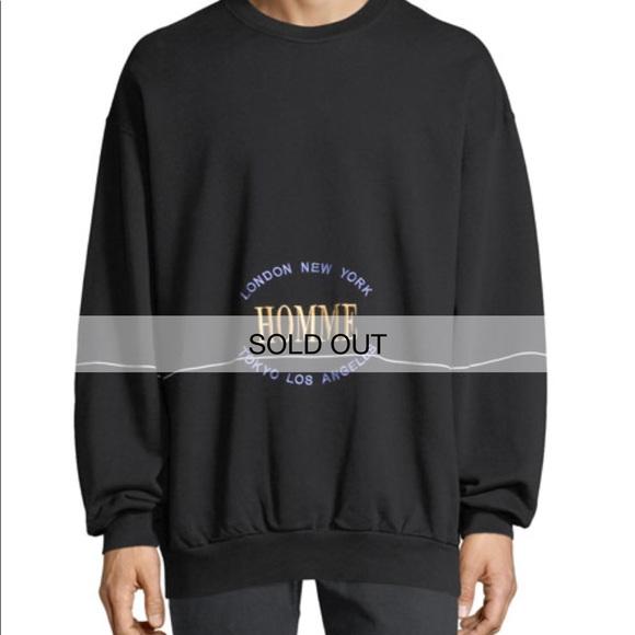 "acheter populaire e9a6c a04f9 Balenciaga ""Homme"" sweater"